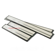 цена на High quality stainless steel door sill Scuff Plate Welcome Pedal 4pcs For MITSUBISHI Outlander 2016 car Accessories