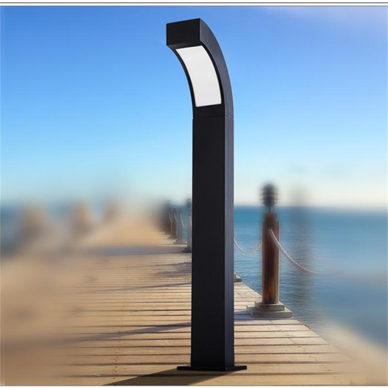 Outdoor LED Landscape Lights Garden Yard Villa Street Lamps Lawn Bollards Lighting Die Cast Aluminum Community Road Post Lights ...