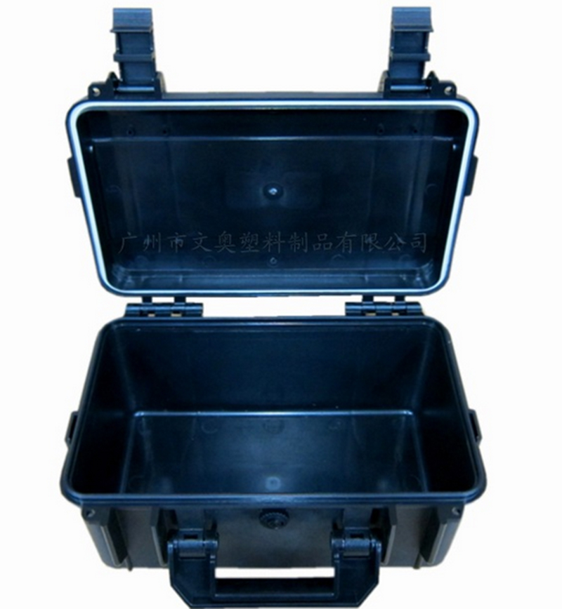 298*177*147mm Plastic Tool Case Toolbox Impact Resistant Sealed Waterproof Equipment Camera Case With Pre-cut Foam Shipping Free