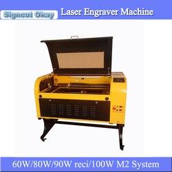 Tanie cena CNC CO2 grawer laserowy i maszyna do cięcia laserowa maszyna grawerująca 6090 z 600*900mm zmotoryzowany w górę iw dół stół