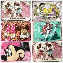 Дисней скидки милый розовый Минни Микки Маус флисовое покрывало для одеяла для маленьких детей домашних животных кошек 70×100 см на кровать/диван/самолет