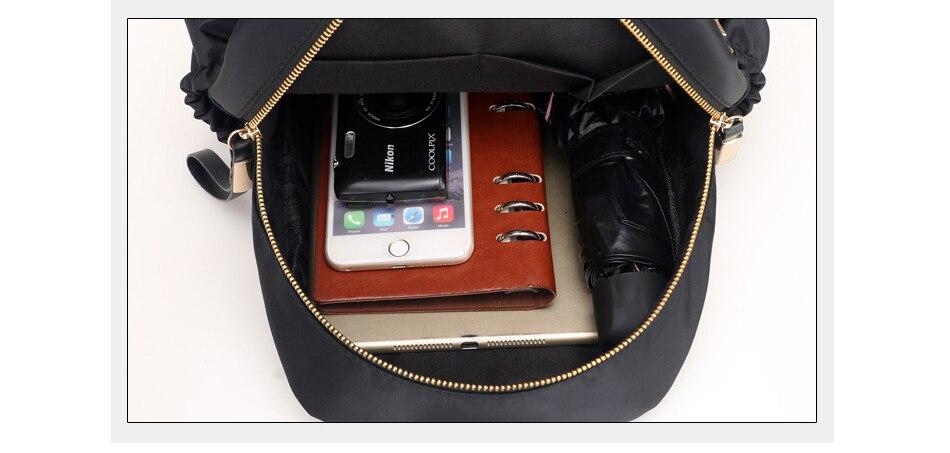 HTB11i0jXEvrK1RjSspcq6zzSXXay Herald Fashion Backpack Women Leisure Back Pack Korean Ladies Knapsack Casual Travel Bags for School Teenage Girls Bagpack