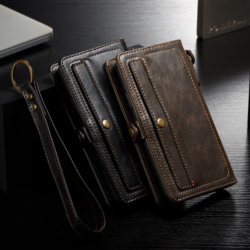 Lanyard Wallet Card Phone Bags Coque For Apple iPhone XS