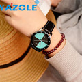 Milky YAZOLE  Womens Watches Flower Fashion Leather Analog Quartz Vogue Wrist Watch  Reloj FEB18