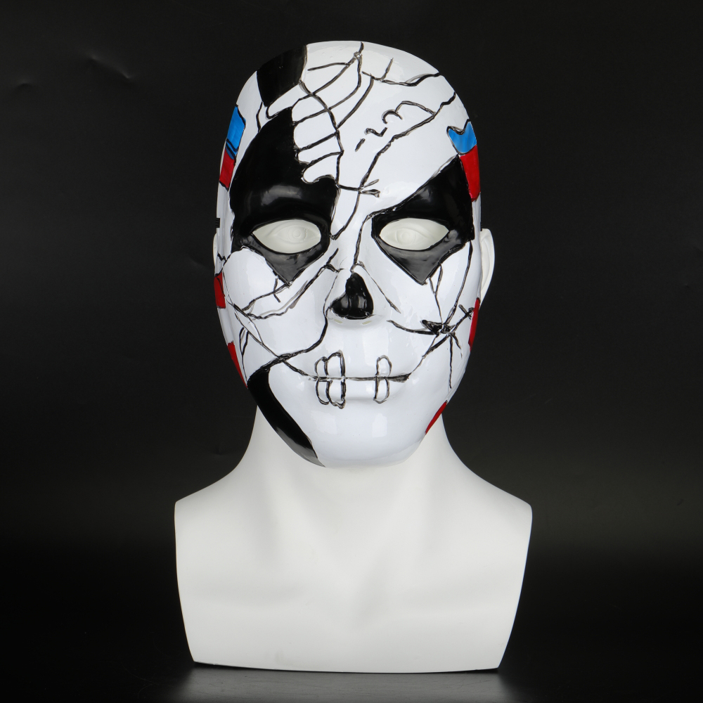 The Punisher 2 Billy Russo Cosplay Mask Plastic Costume Props Halloween Masquerad Mask Unisex Adult Coser  (5)