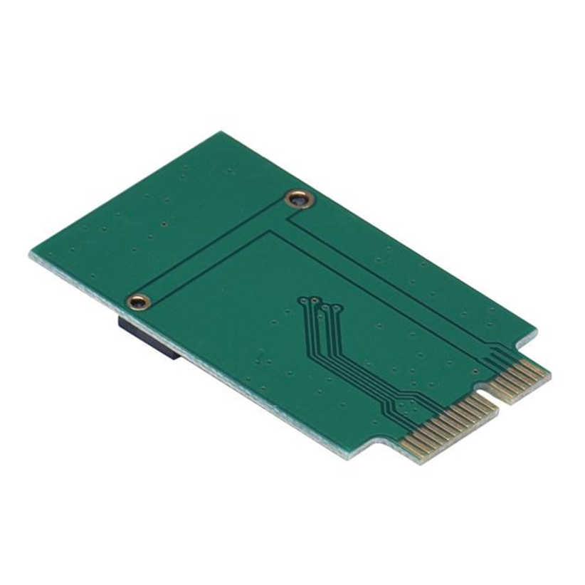 M.2 NGFF SSD untuk 12 + 6 Pin Adaptor untuk MacBook Air 2010 2011 A1370 A1369 Futural Digital Dorp Pengiriman j10T