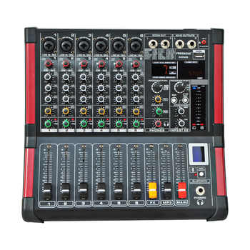 Freeboss MINI6 Bluetooth Record 6 Channels (Mono) 99 DSP effect USB Function Professional Audio Mixer - DISCOUNT ITEM  12% OFF All Category