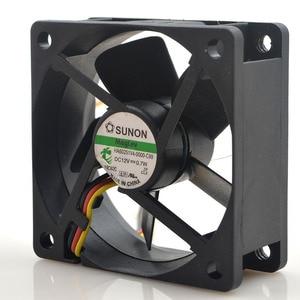 Image 2 - For Sunon HA60251V4 0000 C99 6CM 6025 60mm DC fan 12V 0.7W Maglev silent fan