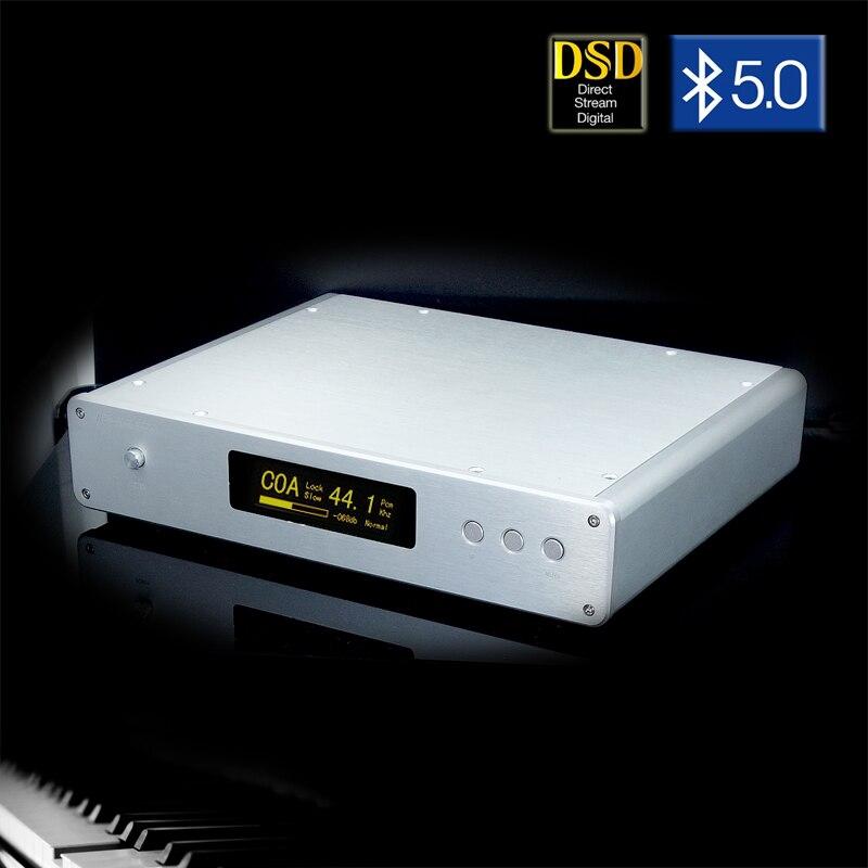 Weiliang áudio DC-300 ultimate duplo núcleo es9038pro dac decodificador amanero interface usb csr8675 bluetooth 5.0 controle remoto