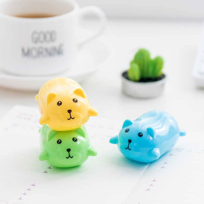 DL Children's cartoon creative Papaxiong sharpener pencil sharpener school children stationery prize number Exquisite