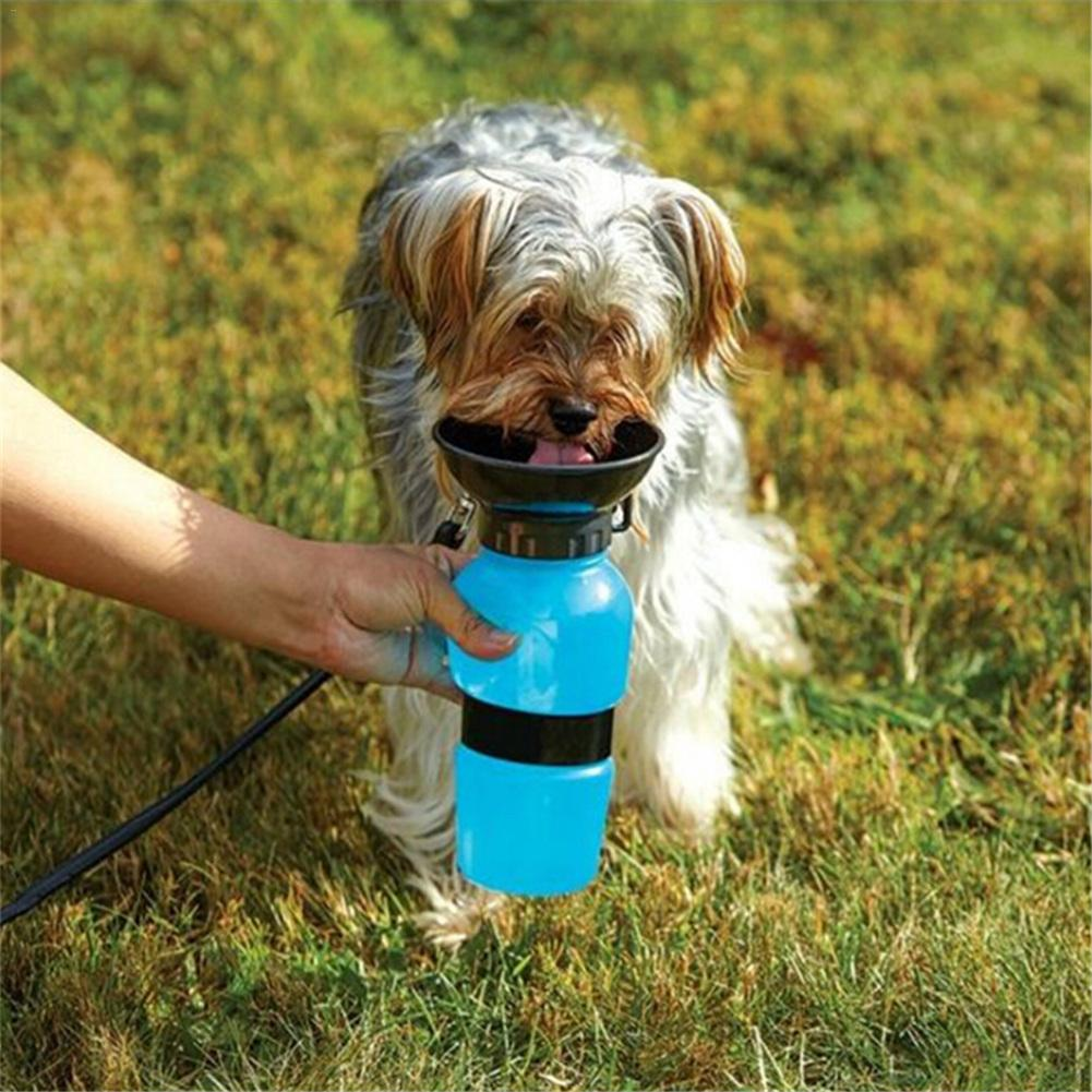 Portable Dog Water Feeder Outdoor Pet Kettle Supplies Cat Accessories Anti-spill Out Design Water Cans Animal Daily Necessities