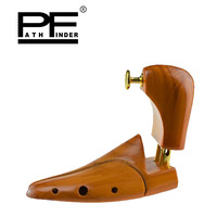 Pathfinder Women men Shoe Tree Twin Tube High grade Solid Wood Spring Wood Adjustable Shoe Shaper Moisture proof Shoe Tree