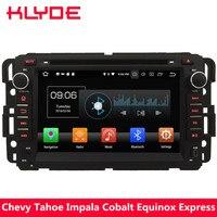 KLYDE 4G Восьмиядерный Android 8,0 4 Гб ОЗУ 32 Гб ПЗУ автомобильный dvd плеер стерео радио для Chevrolet Tahoe траверс Suburban Avalanche HHR