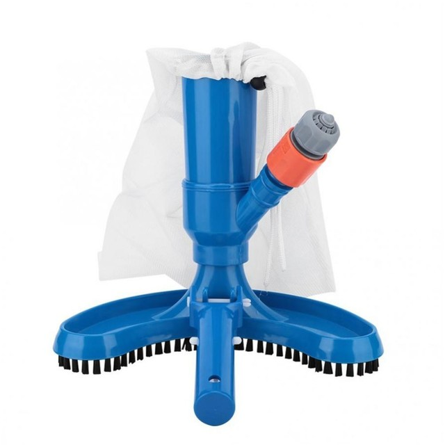 US $11.41 40% OFF Aliexpress.com : Buy 1 Kit Jet Swimming Pool Vacuum  Cleaner Floating Objects Cleaning Tools Suction Head Pond Fountain Vacuum  Brush ...