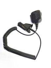 OPPXUN microphone speaker handsfree with 3.5mm jack for motorola XTS2500,HT1000,XTS3500,XTS3000,MTX838 etc walkie talkie