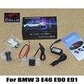 Para BMW 3 E46 E90 E91 / alarme de aviso da lâmpada Laser luz de nevoeiro / neblina traseira Anti Taillight colisão acessórios automóveis luzes