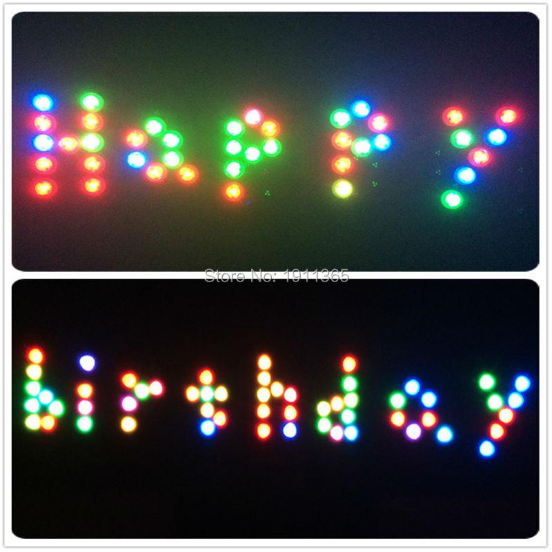 50pcs Hiasan Perkahwinan Kawalan Jauh Submersible LED Parti Jadual - Pencahayaan perayaan - Foto 4