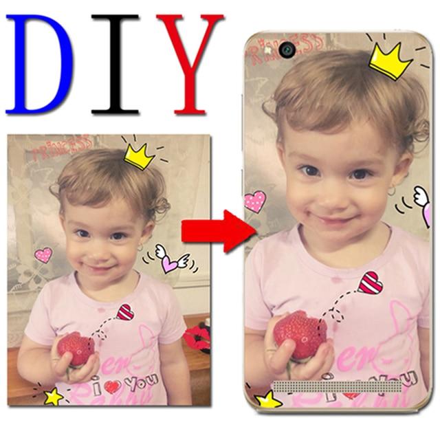 Única personalizada DIY foto caso nombre para Motorola Moto C E4 G5 G6 más Z Z2 G4 jugar g3 M X4 E3 X estilo