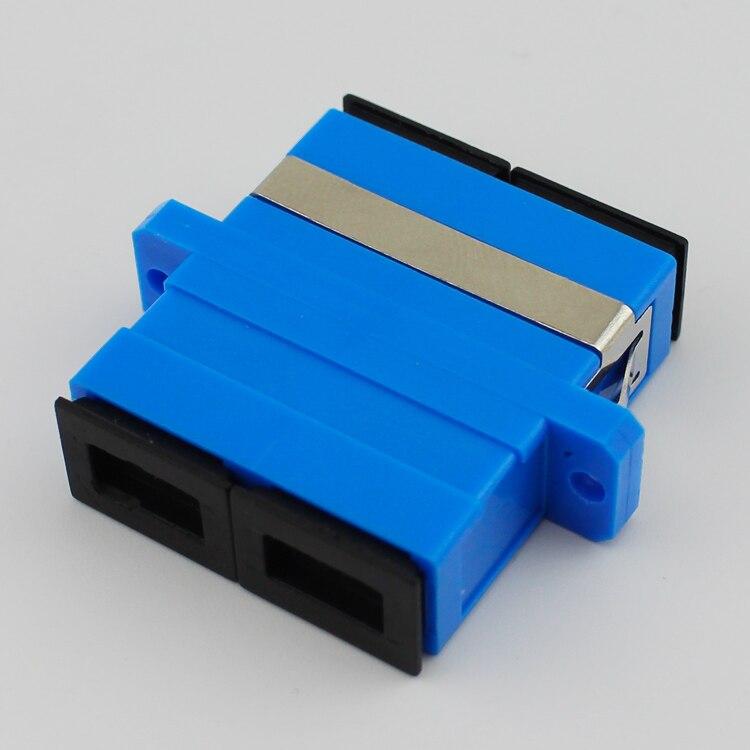 50pcs/lot SC to SC/PC Singlemode Duplex Coupler Fiber Optic Adapter Connector50pcs/lot SC to SC/PC Singlemode Duplex Coupler Fiber Optic Adapter Connector