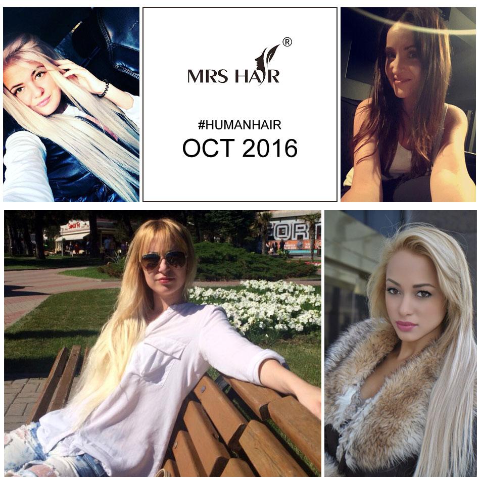 MRSHAIR Buyer Show October 2016, 100% Real Human Hair Supplier