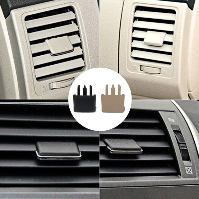 4 PCS Auto Klimaanlage Vent Car Center Dash A/C Vent Louvre Klinge Scheibe Klimaanlage Blatt Clip für Toyota Corolla
