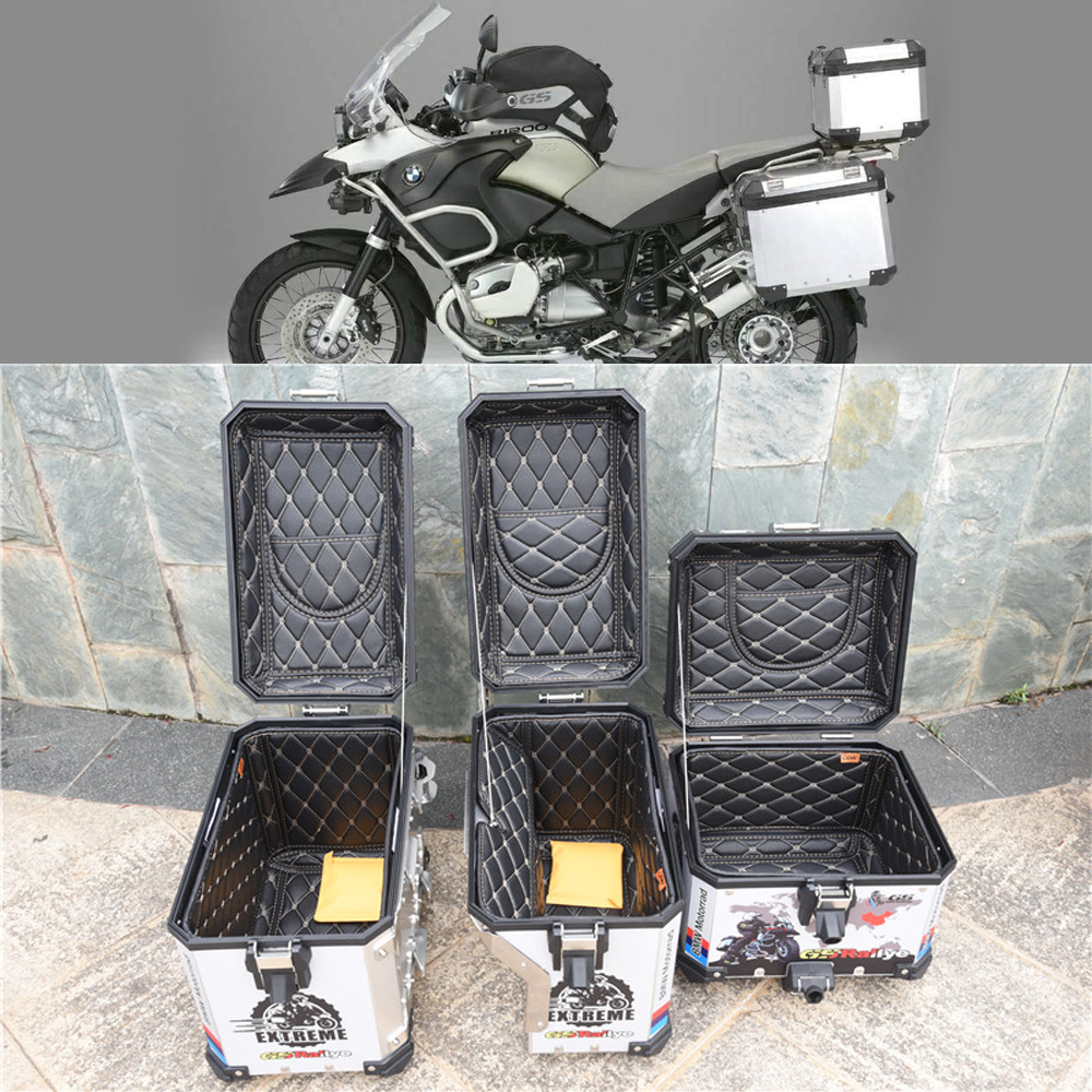For BMW F800GS  2013-2017 R1200GS LC/ADV 2013-17 Luggage Box Inner Container Tail Case Trunk Side Saddlebag +Top cover Inner BagFor BMW F800GS  2013-2017 R1200GS LC/ADV 2013-17 Luggage Box Inner Container Tail Case Trunk Side Saddlebag +Top cover Inner Bag