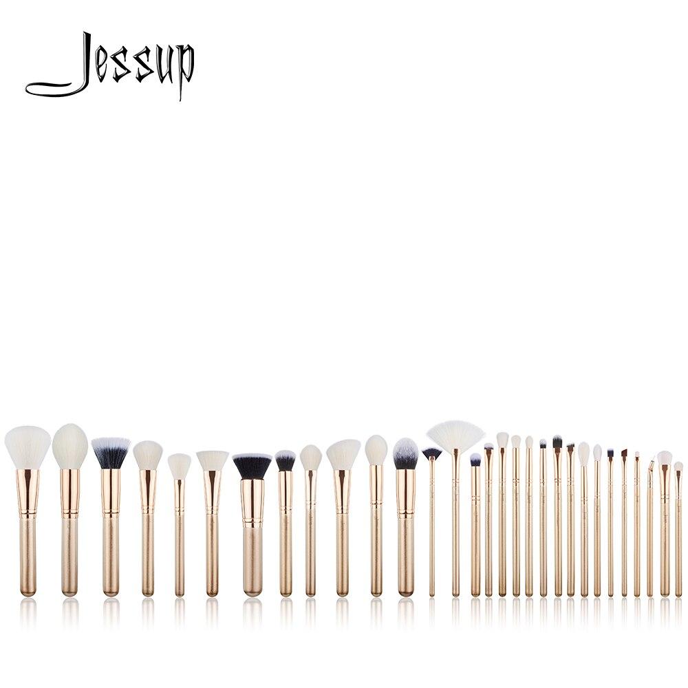 New Jessup brushes 30pcs Makeup Brushes Set maquiagem profissional completa Powder Eyeshadow Concealer Blending Brushes T400 jessup brushes 8pcs makeup brushes tools makeup cosmetics brush kit blending eyeshadow eyeliner brow concealer t091