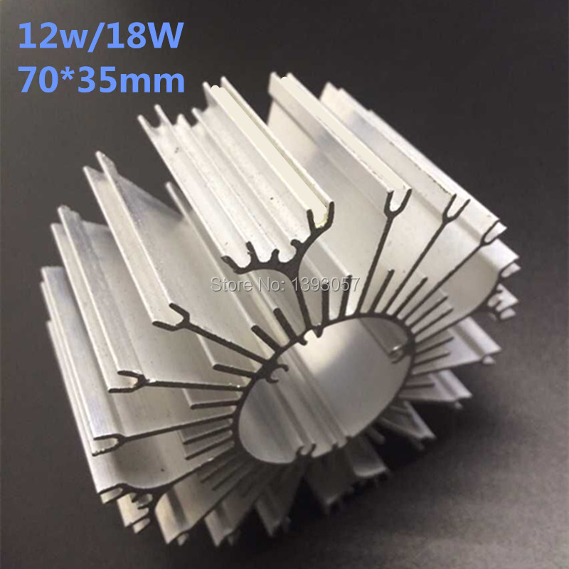20pcs/lot LED Aluminum Heatsink LED Radiator For 12W 18W High Power Lamp DIY LED Cooler dissipador de calor UFO PCB Radiator