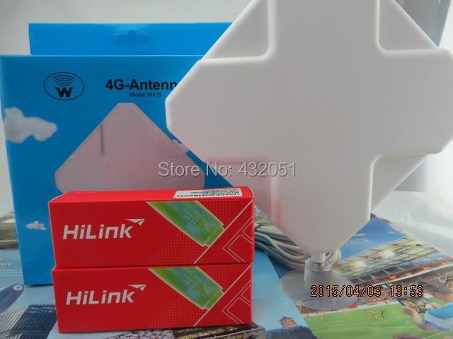 NEW Huawei E3272-926 2g 3g 4g+ LTE modem unlocked +35dbi CRC9 antenna indoor 3g 14dbi crc9 antenna