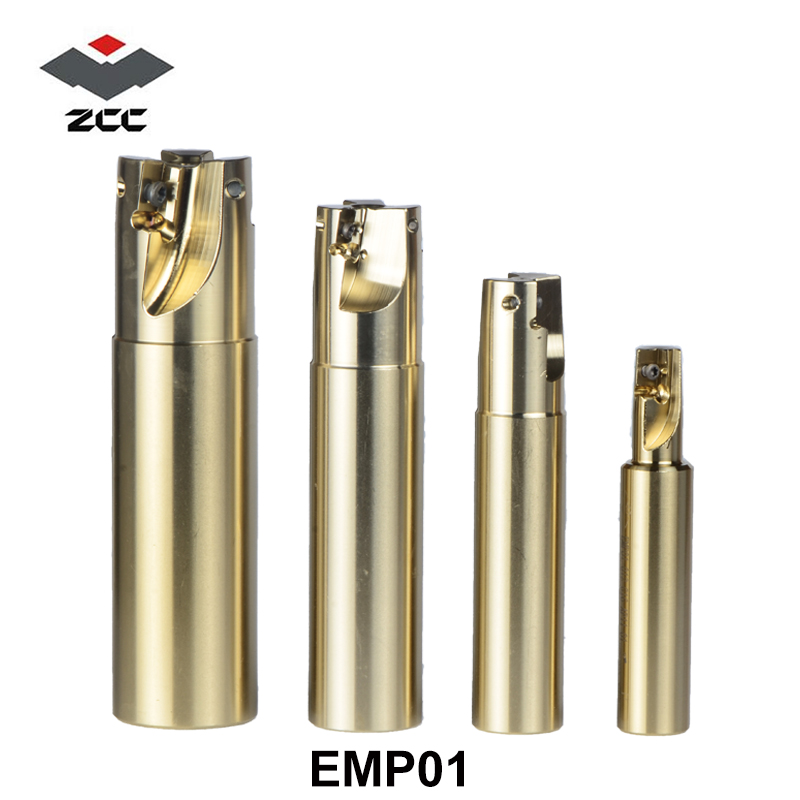ZCCCT CNC Milling tool square shoulder milling tools EMP01 alloy steel milling cutter for carbide insert APKT