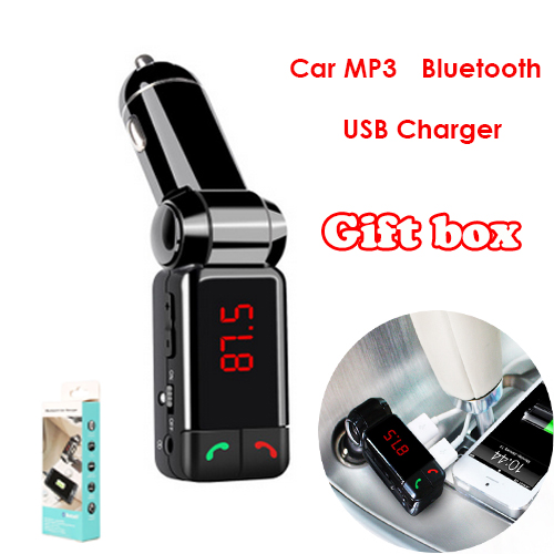 gift box big promotion car mp3 bluetooth car bluetooth. Black Bedroom Furniture Sets. Home Design Ideas