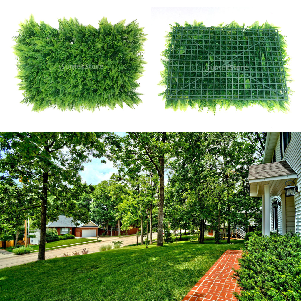 Wholesale 40*60cm decorative Artificial Turf Landscape Fake Grass ...