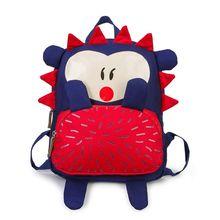 2019 new Cute Kid Toddler Backpack Kindergarten Schoolbag 3D Cartoon Hedgehog Animal Bag