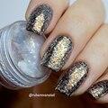 1 Caja de 2 ml Camaleón Nail Glitter Powder Sparkles Deslumbrante Polvo Pigmento de Cromo Decoración de Uñas de Manicura DIY