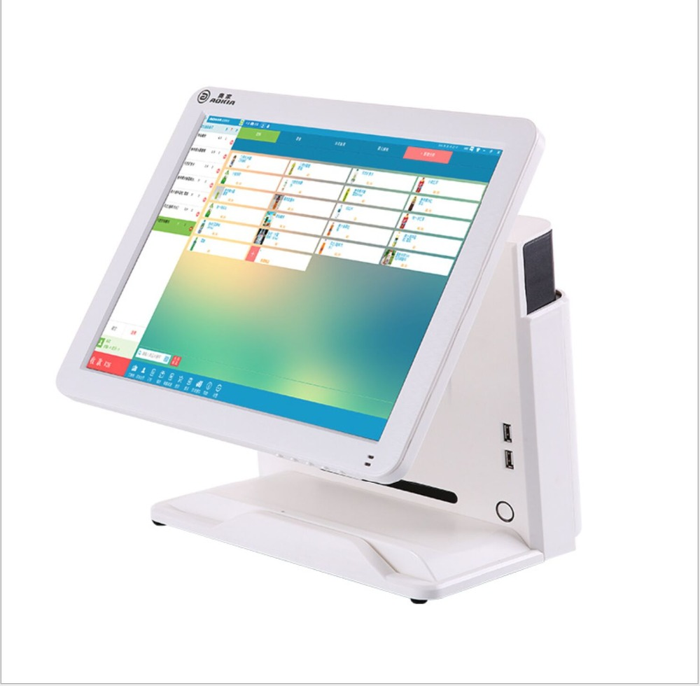 15 inch touch pos All In One restaurant pos cashier System15 inch touch pos All In One restaurant pos cashier System