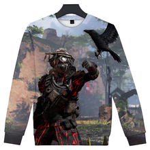 цена на Frdun Tommy 3D Apex Legends O-neck Sweatshirt 2019 NEW Hot Game Sweatshirt for Men or Women Round Collar Long Sleeves Sweatshirt