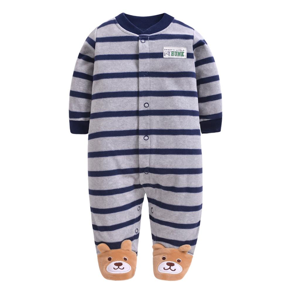 2019 new Winter Fleece baby clothes baby girls boys Long sleeves bodysuit baby boy jumpsuit 2019 new Winter Fleece baby clothes baby girls boys Long sleeves bodysuit baby boy jumpsuit