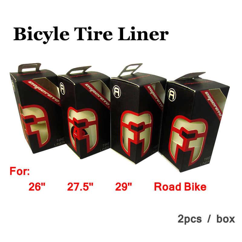 Nieuwste MTB fietsband liner anti punctie Racefiets Banden 26 27.5 29 700C 26er berg band bescherming pad 2 stks accessoires