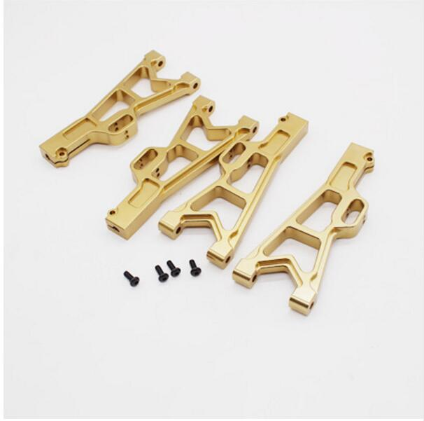 JLB Racing CHEETAH 1/10 Brushless RC Car spare parts Metal upgrades Lower Swing arm A arm EA1001|Parts & Accessories|Toys & Hobbies - AliExpress