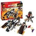 BELA 10529 06038 Ninjagoes figuras Ultra Raider 70595 Ladrillos de Construccion de Sigilo Ninja Figura Juguetes Para Los Niños