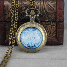Supernatural Pentagram Pocket Watch