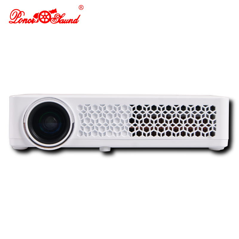 Poner saund android mini projector newest full hd smart for Best android mini projector