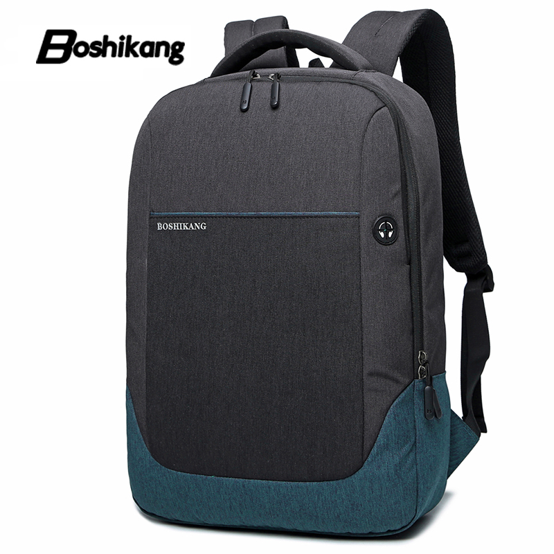 Boshikang Travel Backpack Bag Trend Leisure Pack Junior High School College Student School Bag Men /women Computer Laptop Bag