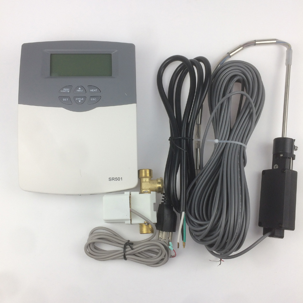 Solar Controller Water Heater SR501 Connected with Water Tank or low Pressure Water Providing 100-230VSolar Controller Water Heater SR501 Connected with Water Tank or low Pressure Water Providing 100-230V