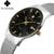 WWOOR Relógios dos homens Nova marca de luxo relógio dos homens dos esportes Da Forma de quartzo-relógio de aço inoxidável cinta de malha ultra fino data mostrador do relógio