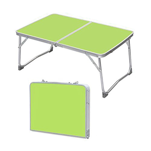 NOCM-Portable Folding Picnic Table/Desk Bed Tray/Stand for Laptop Notebook Computer (Green Folding Table) 1pc white multifunctional light foldable table dormitory bed notebook small desk picnic table laptop bed tray
