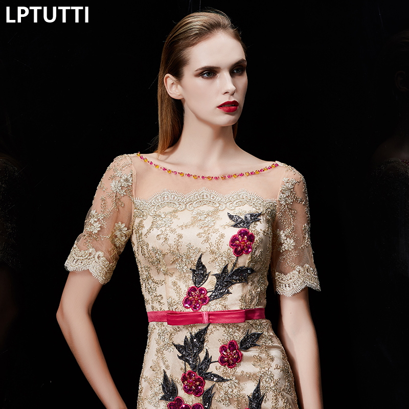 LPTUTTI Crystal Embroidery New Sexy Woman Social Festive Elegant Formal  Prom Party Gowns Fancy Short Luxury Cocktail Dresses-in Cocktail Dresses  from ... ee86e0ee13e1