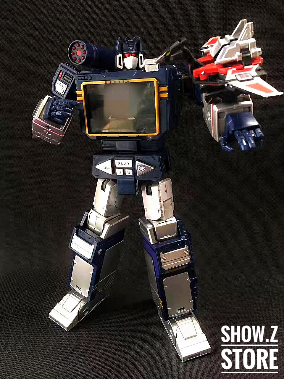 [Show.Z Store] 4th Party MP-13 Masterpiece Soundwave MP 13 MP13 Transformation Action Figure [show z store] fanstoys ft 06x sever iron dibots no 3 g1 masterpiece limited edition mp transformation action figure instock