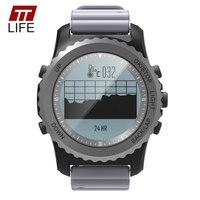 TTLIFE 최고 브랜드 고급 여성 시계 S968 GPS 시계 남성 방수 심장 박동 모니터 피트니스 추적기 팔찌 안드로이드 IOS