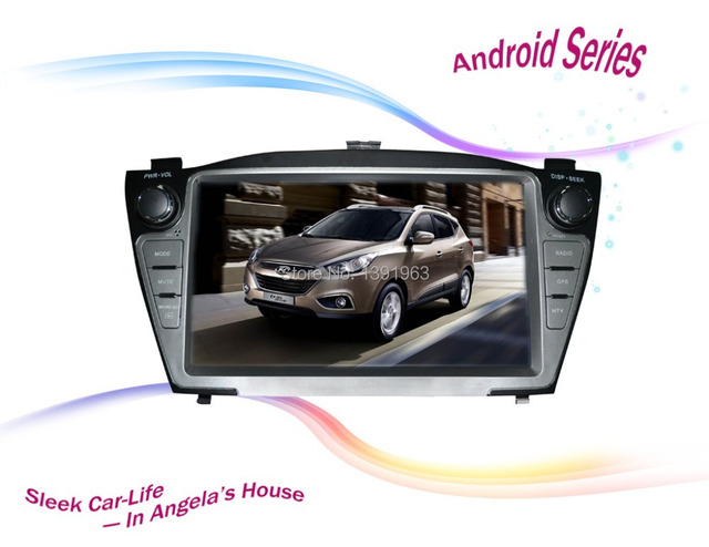 US $370 0 |Hyundai IX35 TUCSON Andriod Car navigation ,DSP ,3G wifi, gps  ,bluetooth ,SD card, Capacitive touch screen-in Vehicle GPS from  Automobiles